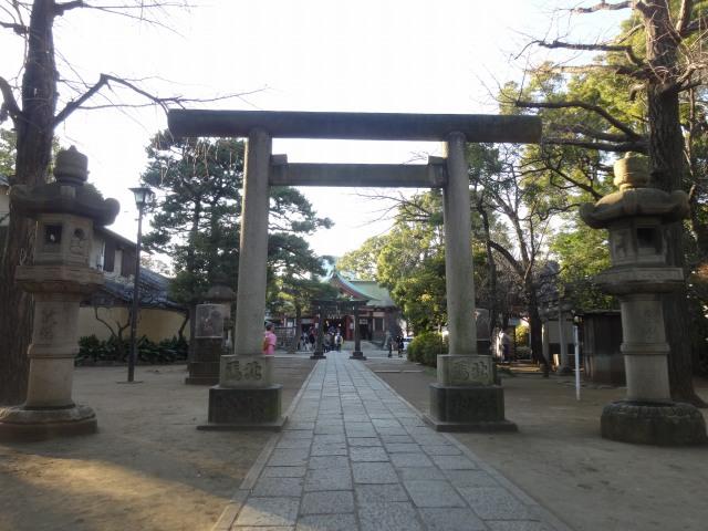 品川神社9