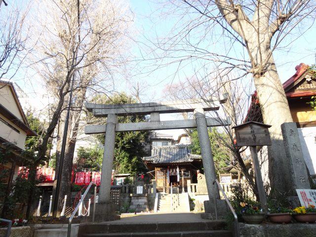 烏森稲荷神社1