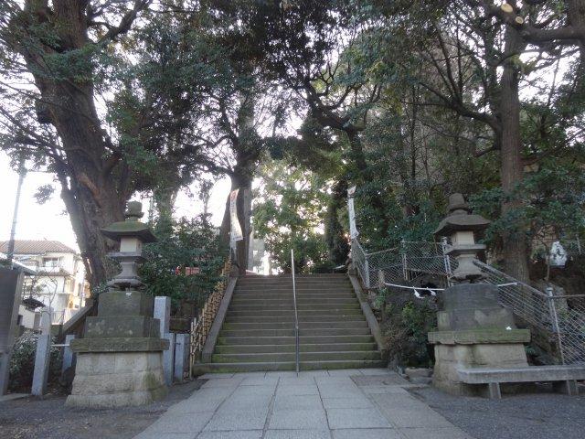 中目黒八幡神社2