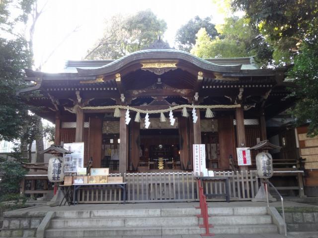 中目黒八幡神社8