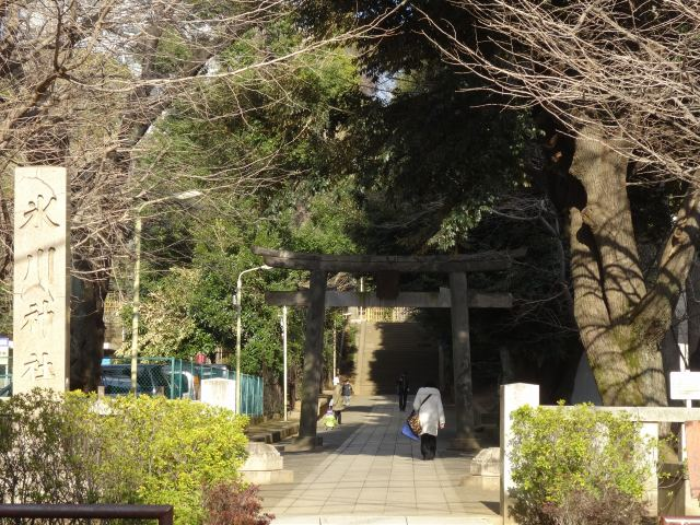 渋谷氷川神社1