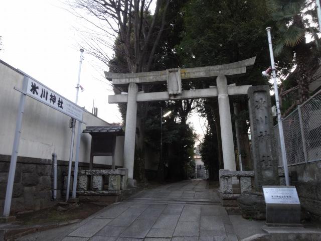 品川氷川神社1