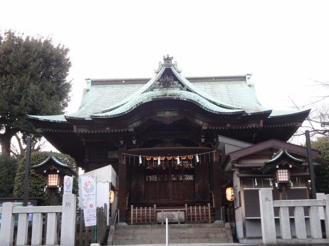 品川氷川神社10