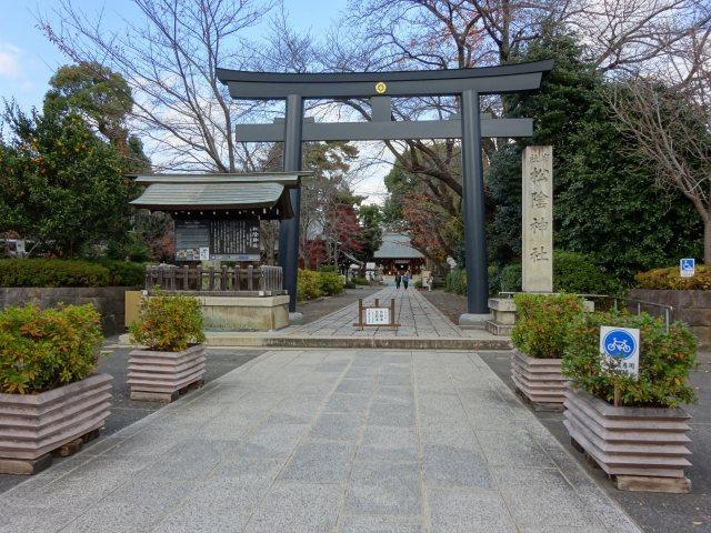 松陰神社1