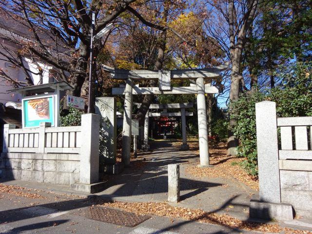 自由が丘熊野神社1