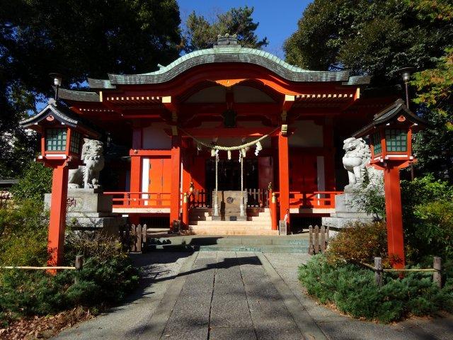 自由が丘熊野神社3