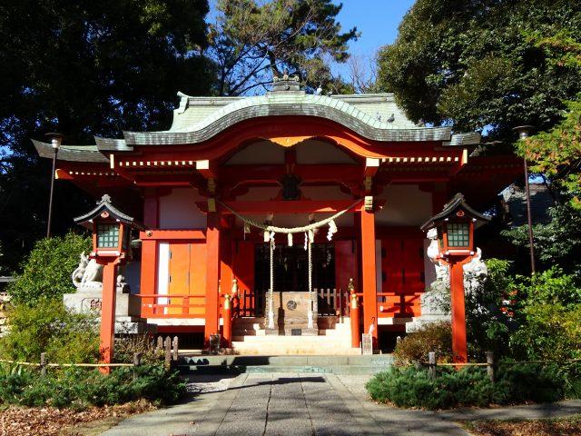 自由が丘熊野神社4