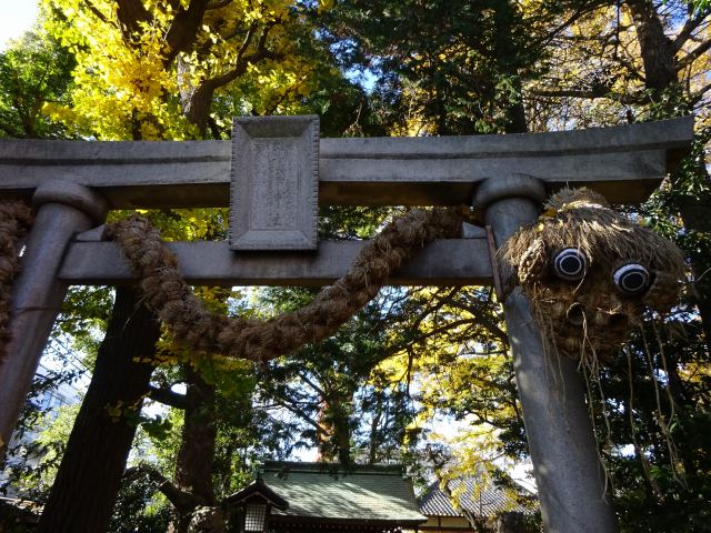 奥沢神社1