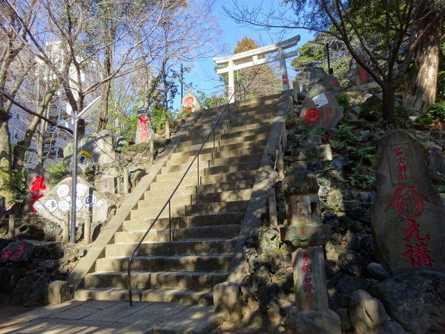 駒込富士神社3