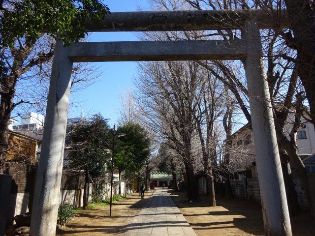駒込天祖神社1