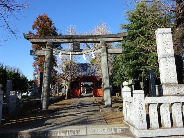 赤塚諏訪神社1