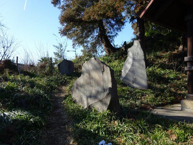 赤塚諏訪神社富士塚2