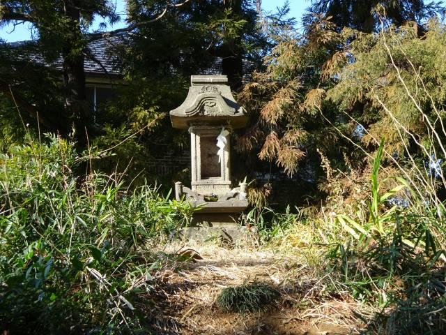 赤塚諏訪神社富士塚4