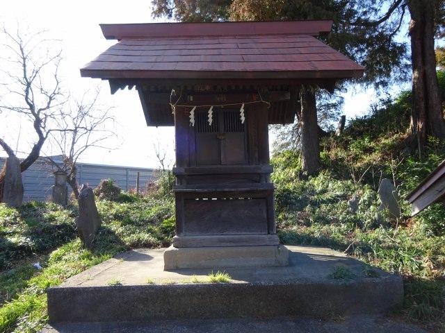 赤塚諏訪神社富士塚5
