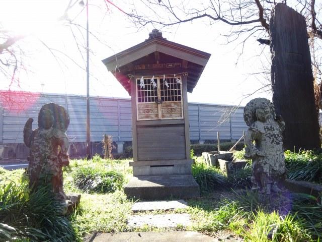 赤塚諏訪神社富士塚6