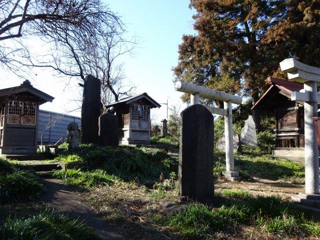 赤塚諏訪神社富士塚7