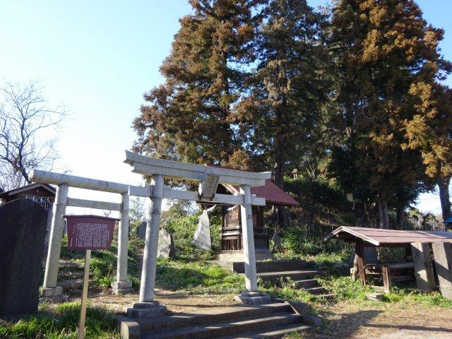赤塚諏訪神社富士塚8