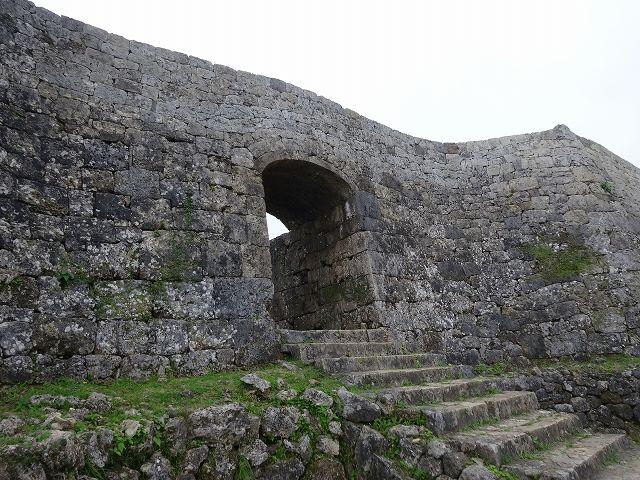 中城城跡石垣3