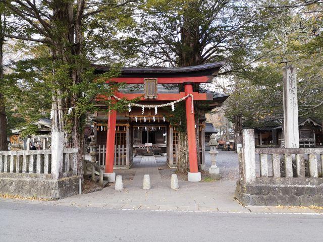 忍野八海浅間神社1