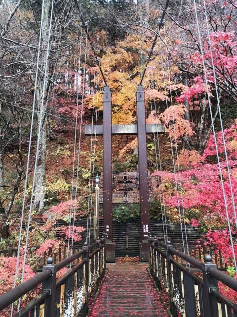 紅の吊り橋13