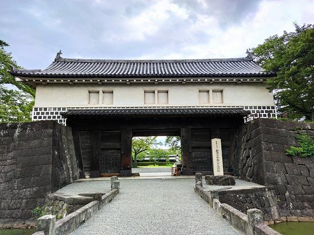 新発田城10